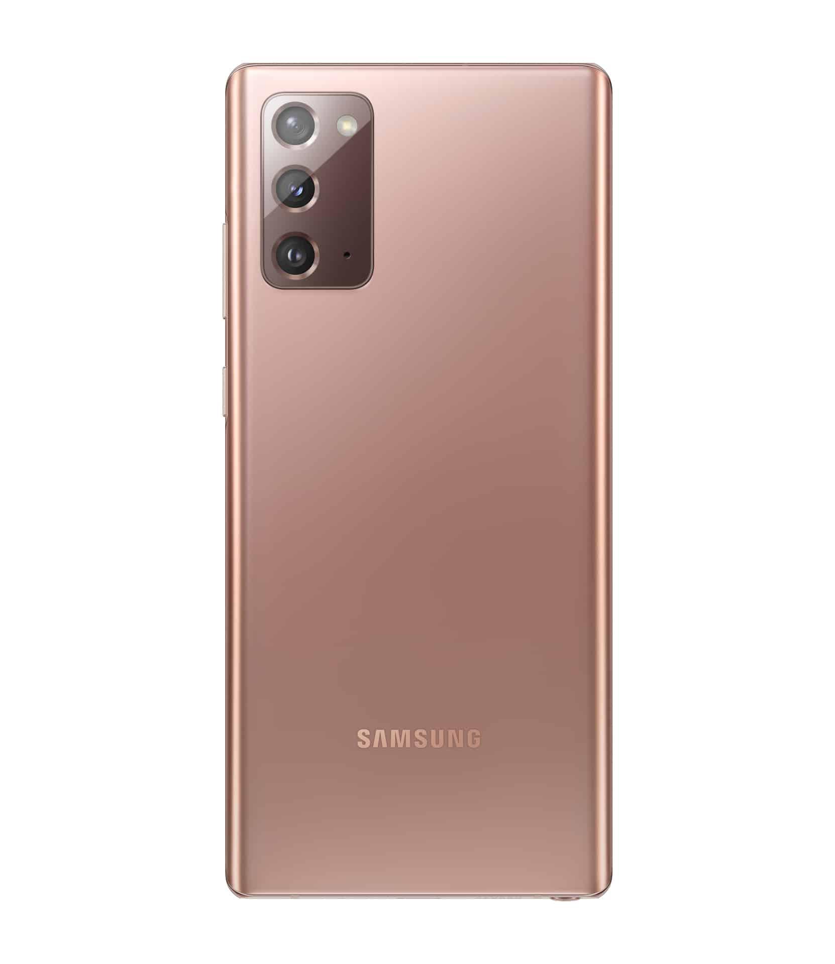 Galaxy Note20 Mystic Bronze Back