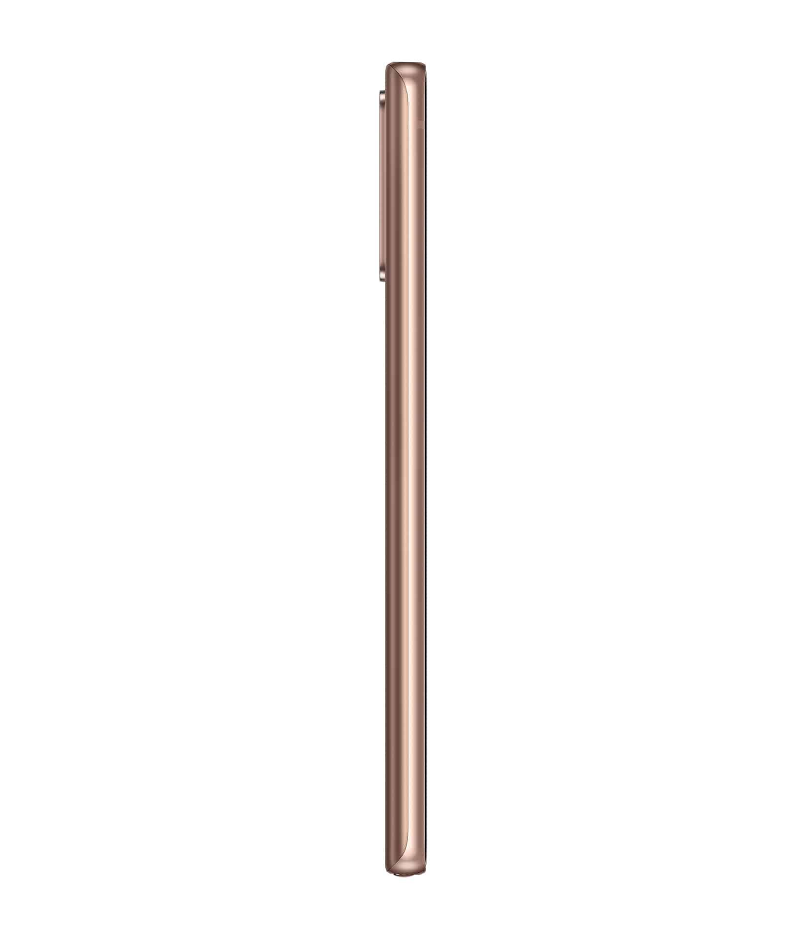 Galaxy Note20 Mystic Bronze Left Profile