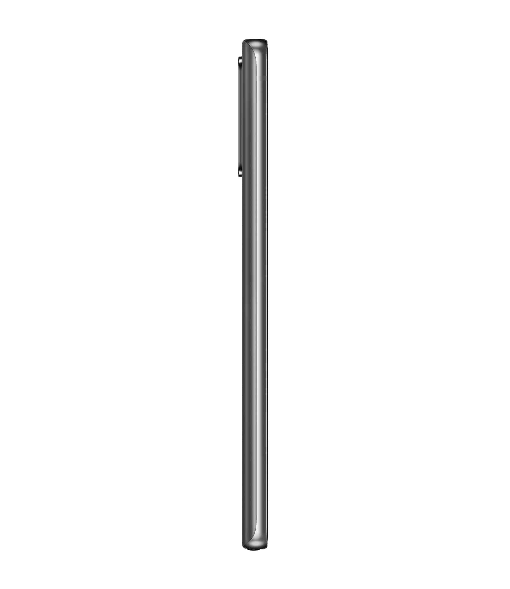Galaxy Note20 Mystic Gray Left Profile