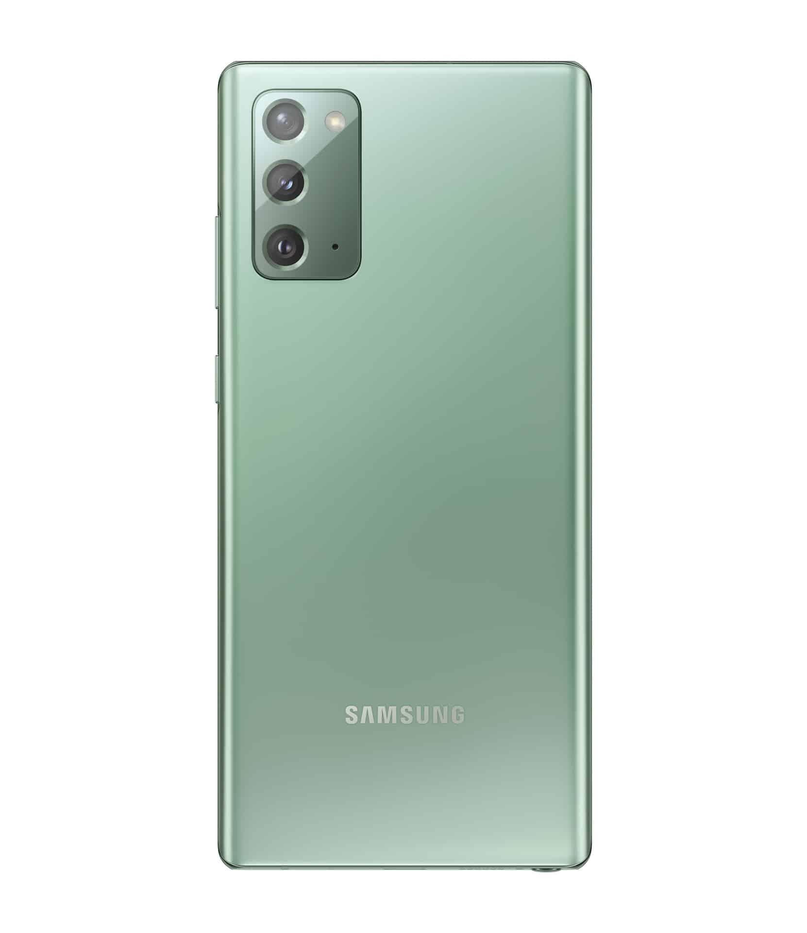 Galaxy Note20 Mystic Green Back