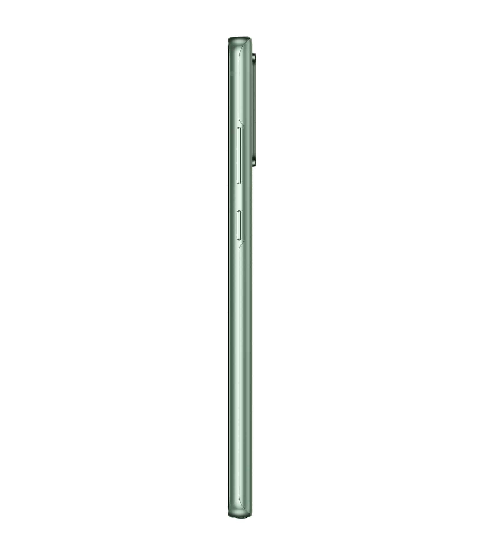 Galaxy Note20 Mystic Green Right Profile