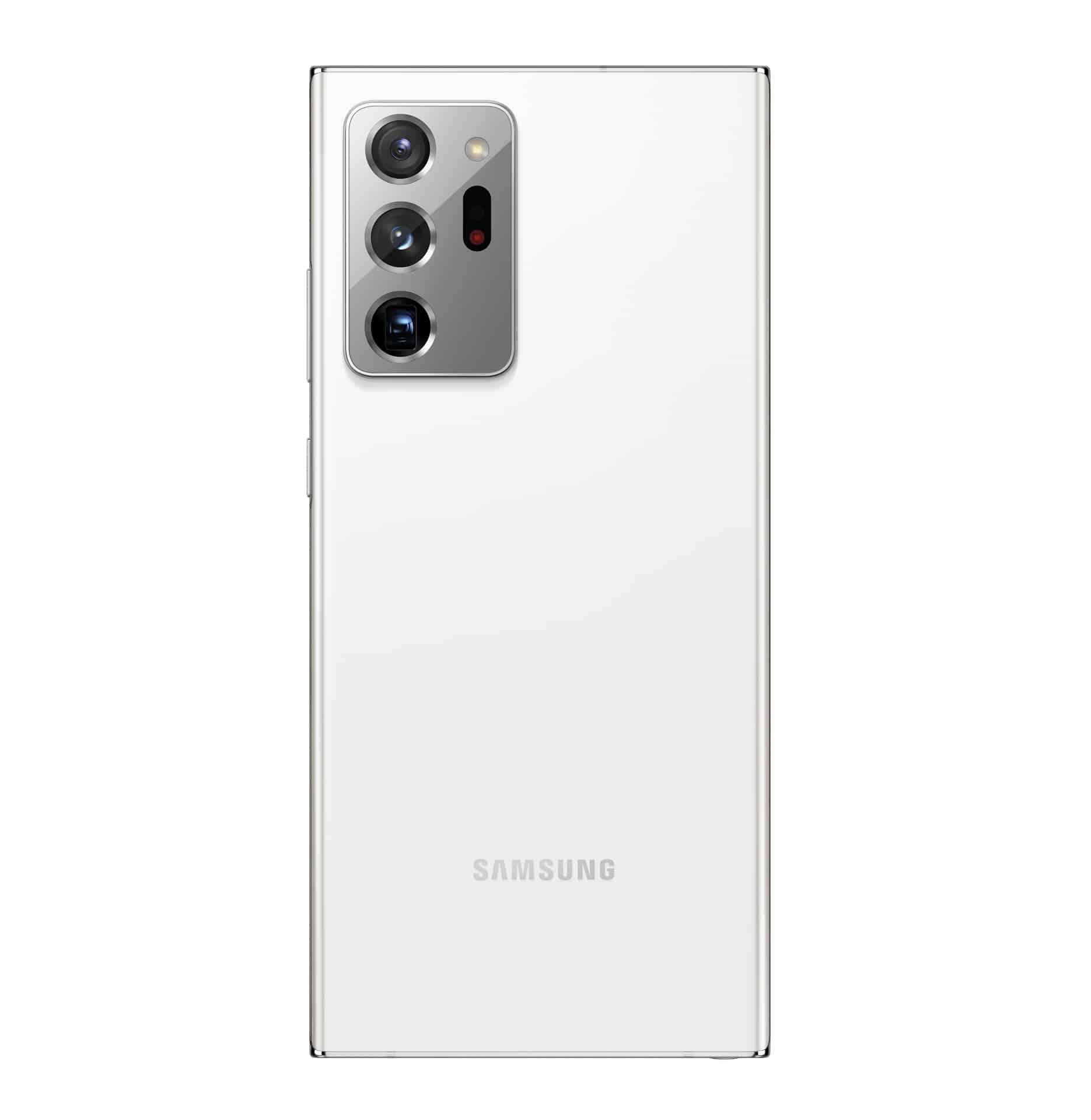 Galaxy Note20 Ultra Mystic White Back