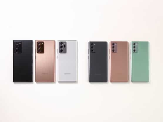 Galaxy Note20 Ultra and Note 20 All Colors