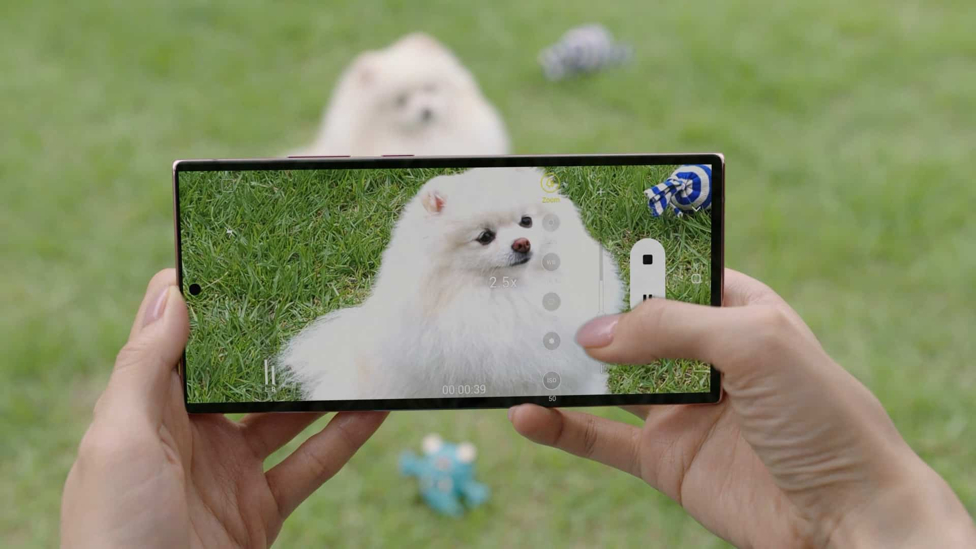 Galaxy Note20 Ultra Control Zoom