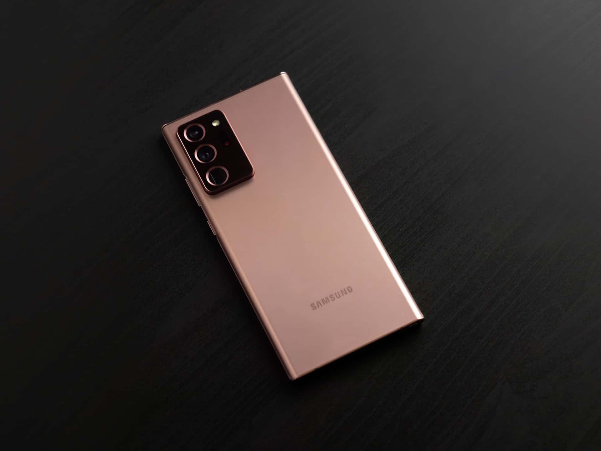 Galaxy Note20 Ultra Mystic Bronze Back