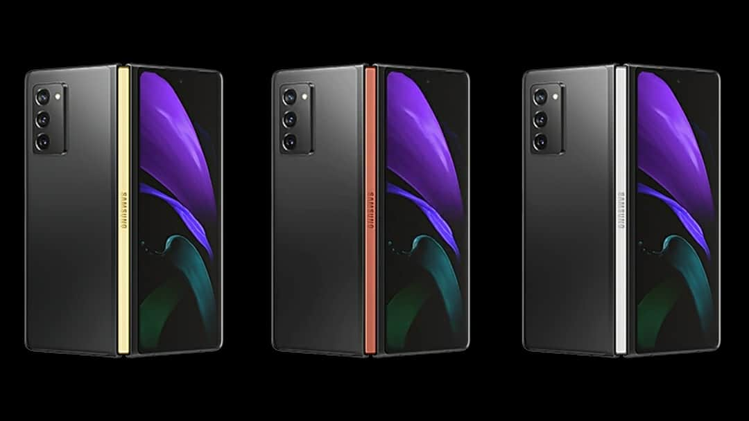 Check Out Almost All Samsung Galaxy Z Fold 2 Hinge Colors Flizzyy Get News Easy On Flizzyy