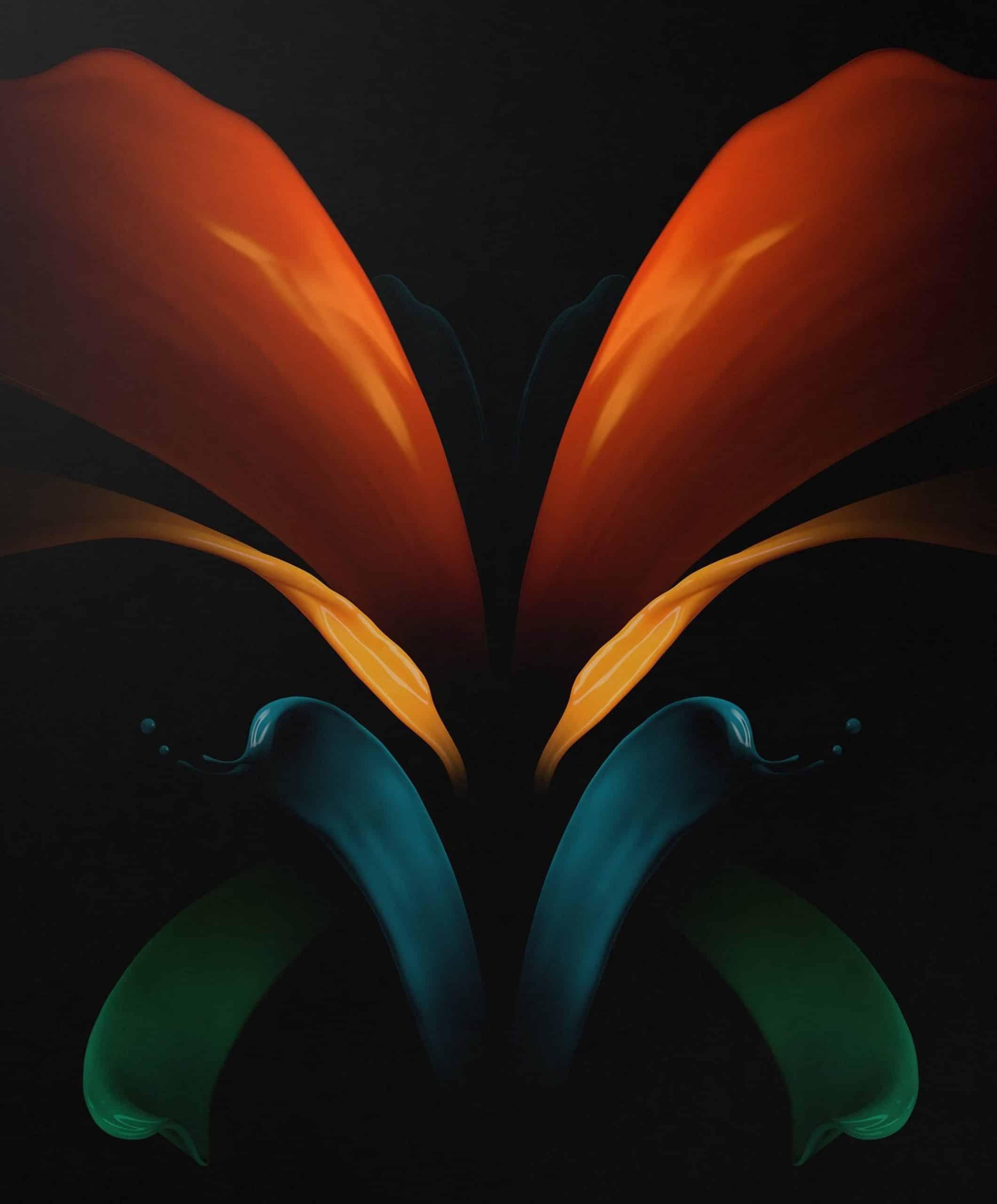 Galaxy Z Fold 2 wallpaper image 1