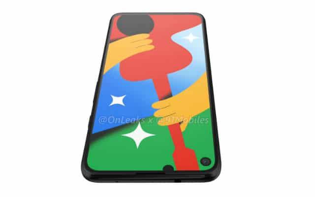 Google Pixel 4a 5G render leak 10