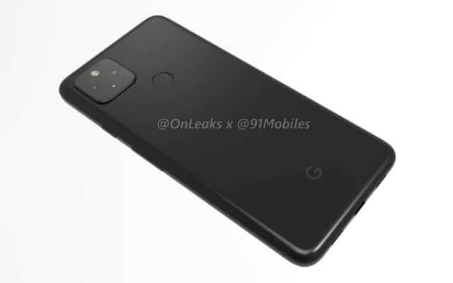 Google Pixel 4a 5G render leak 12