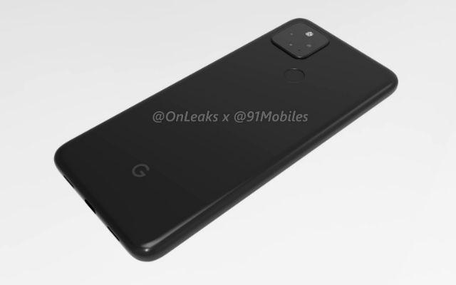 Google Pixel 4a 5G render leak 14