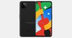 Google Pixel 4a 5G render leak 2