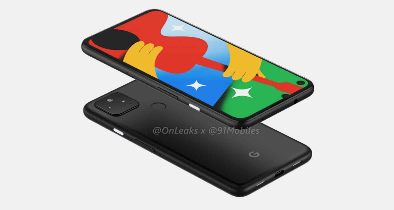 Google Pixel 4a 5G render leak 5