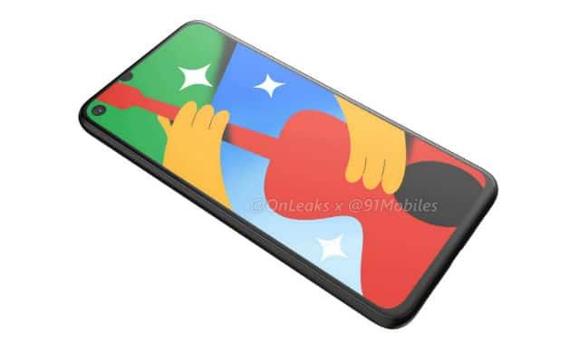 Google Pixel 4a 5G render leak 6