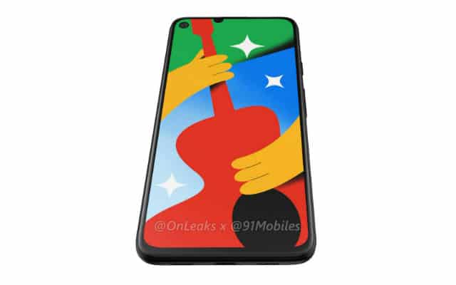 Google Pixel 4a 5G Renders Reveal Minimal Changes Compared ...