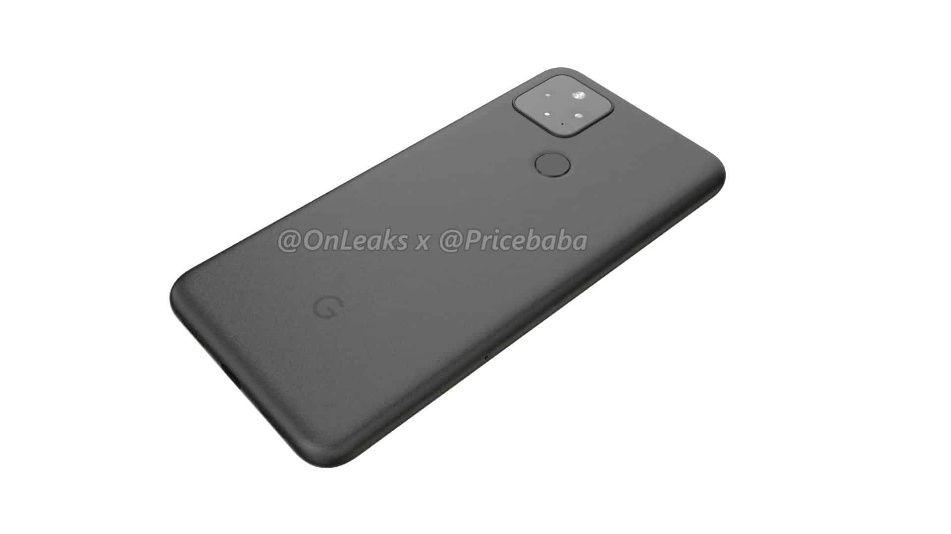 Google Pixel 5 render leak 13