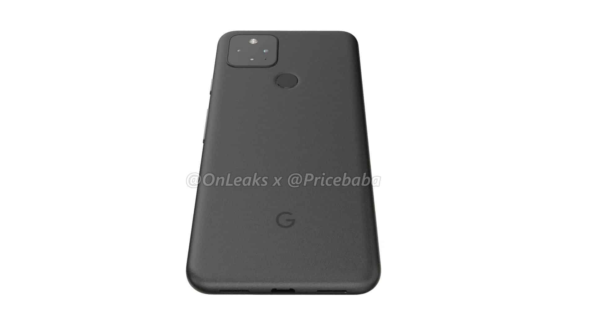 Google Pixel 5 render leak 14