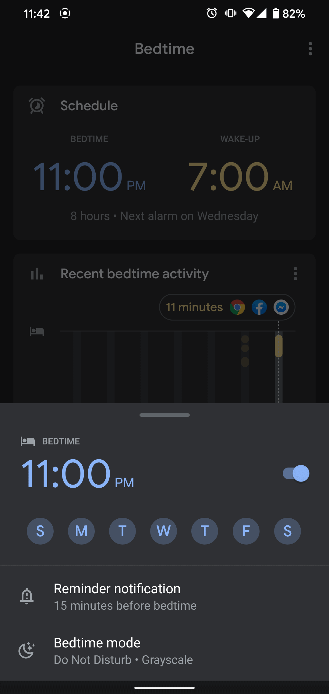 How To Turn On Bedtime Mode 2