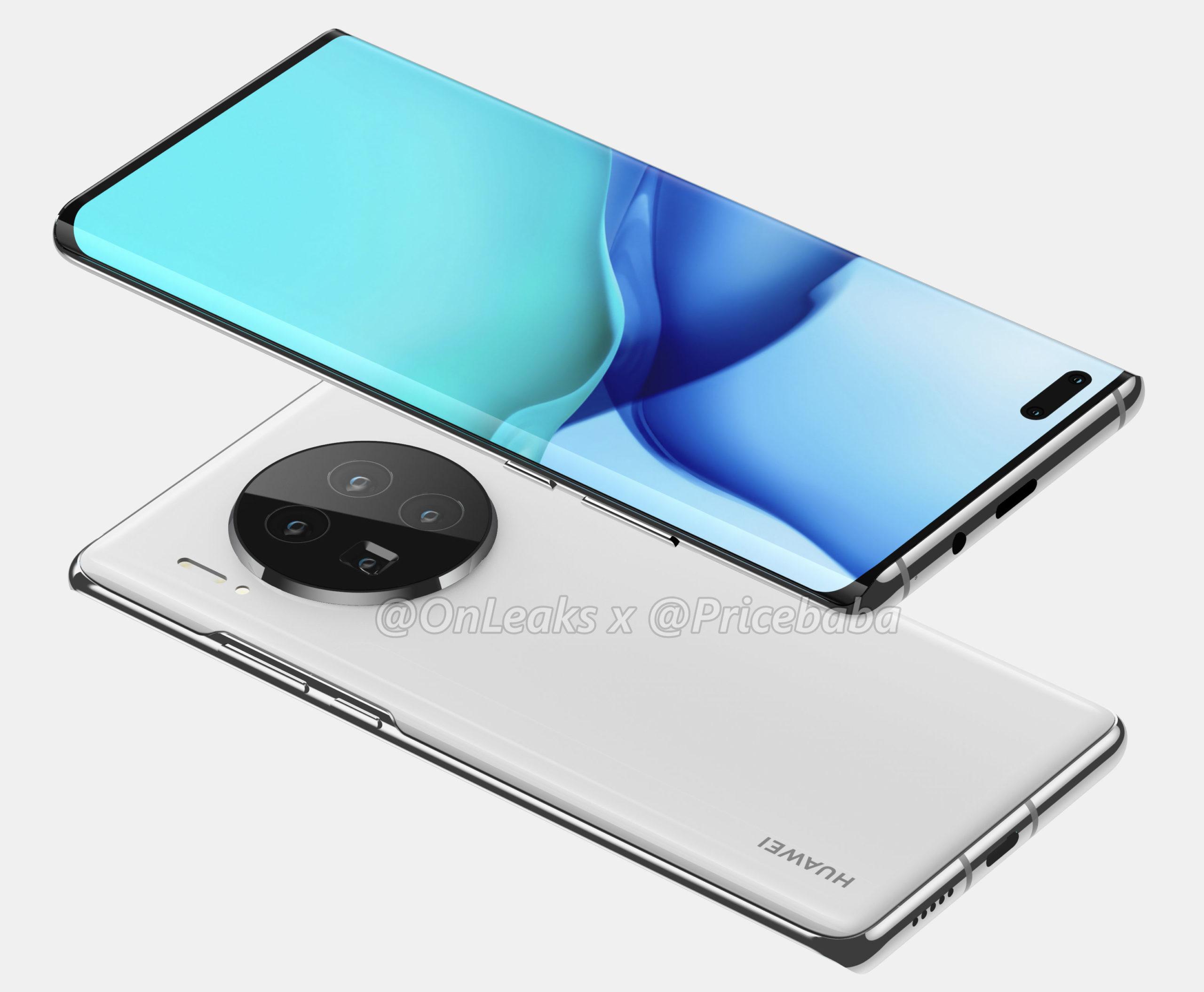 Huawei Mate 40 Pro render leak 1