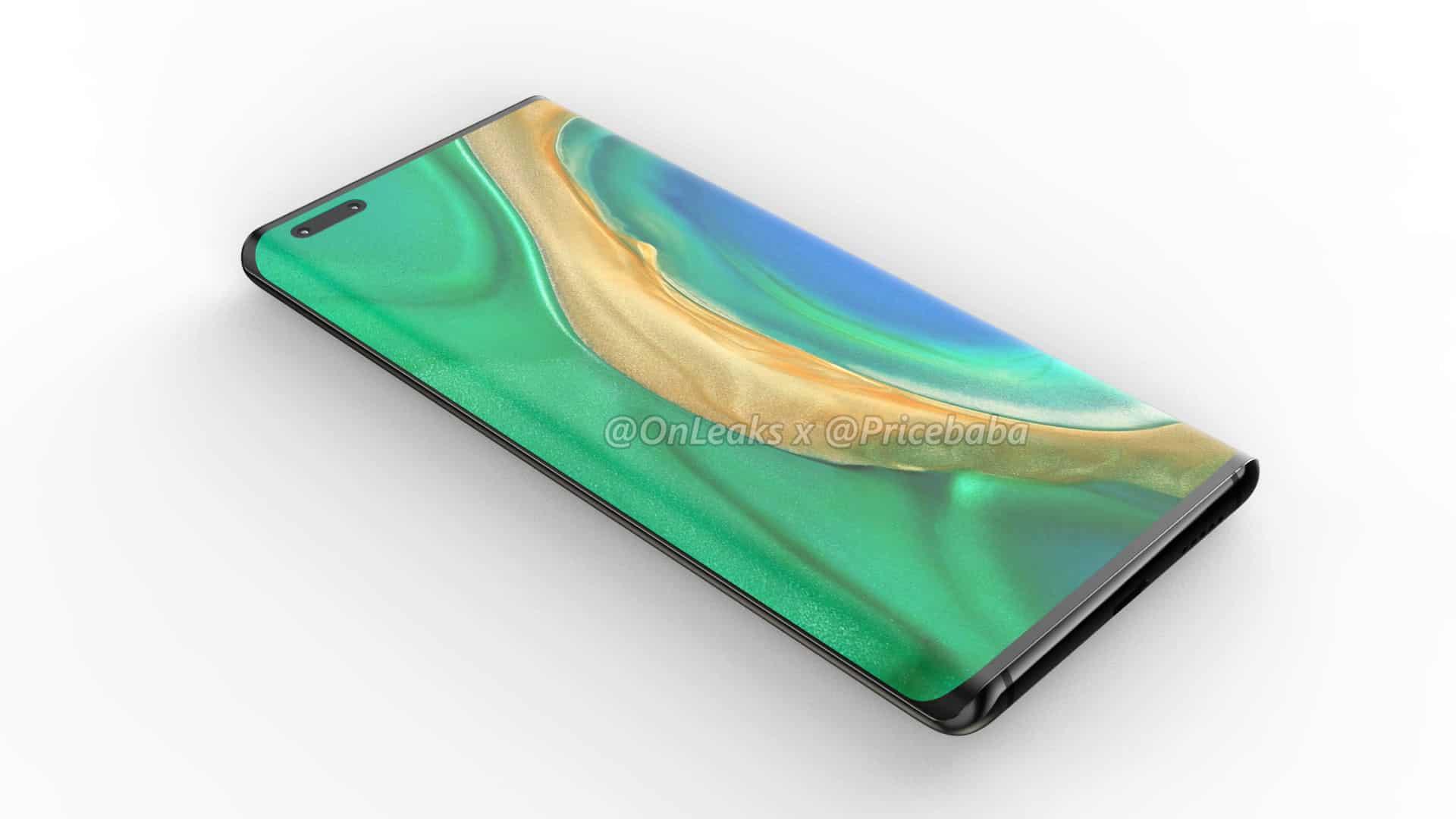 Huawei Mate 40 Pro render leak 10