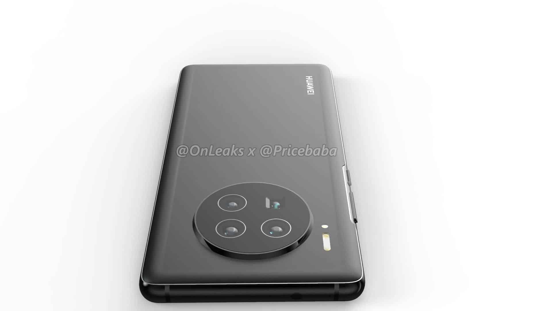 Huawei Mate 40 Pro render leak 12
