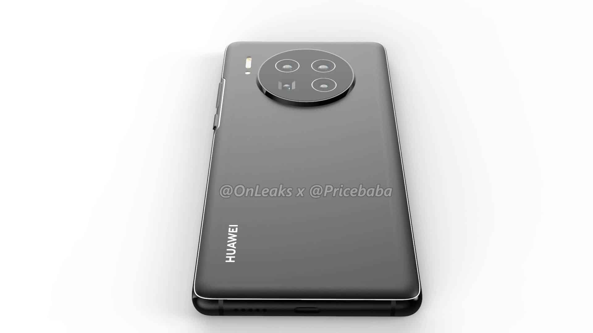 Huawei Mate 40 Pro render leak 15