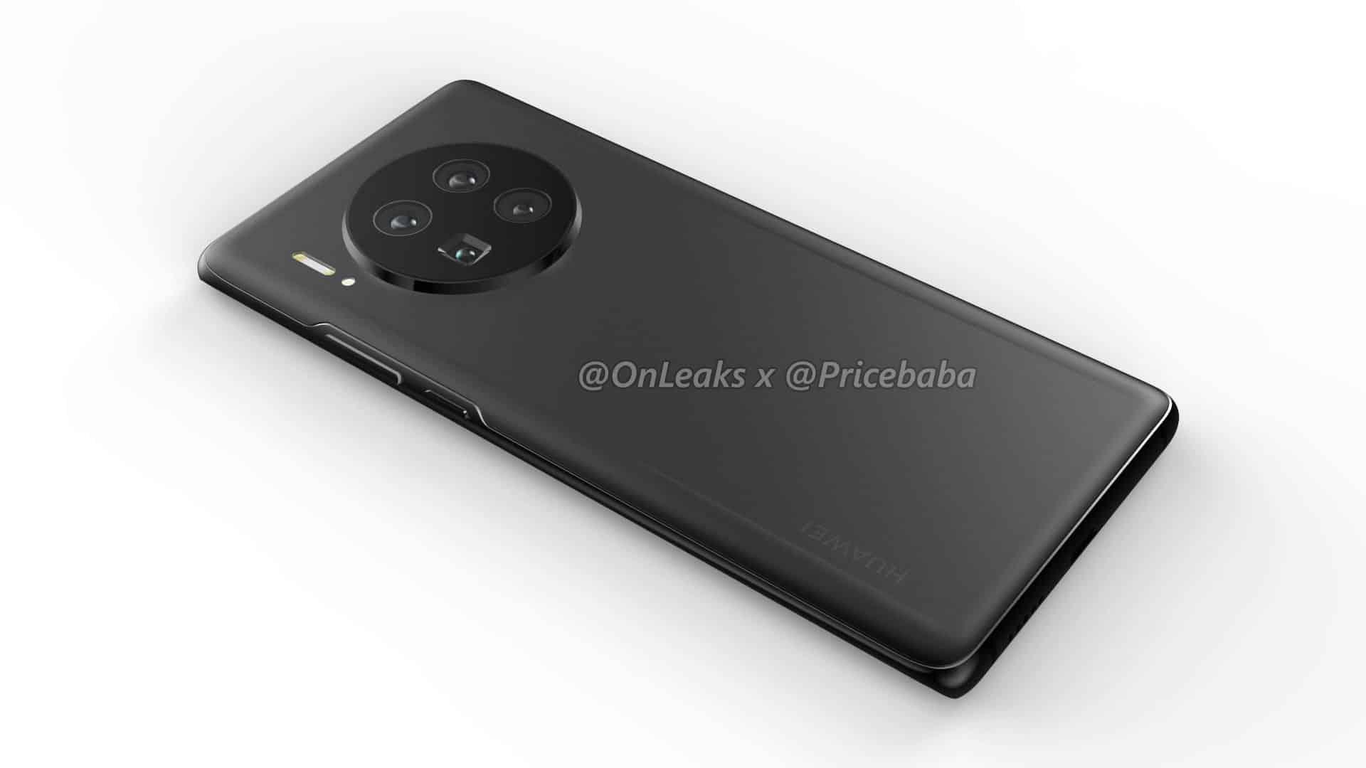 Huawei Mate 40 Pro render leak 16