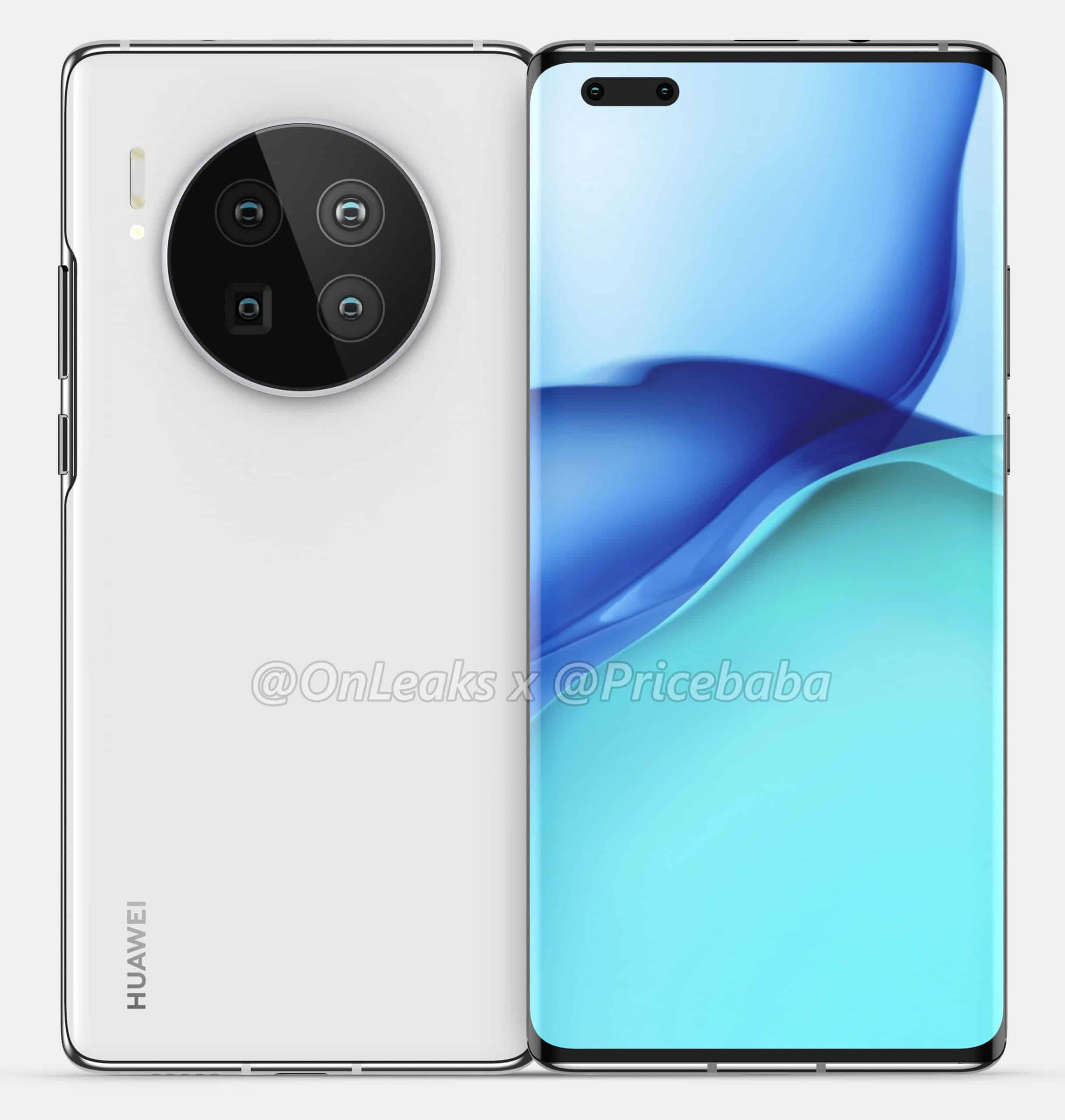 Huawei Mate 40 Pro render leak 2