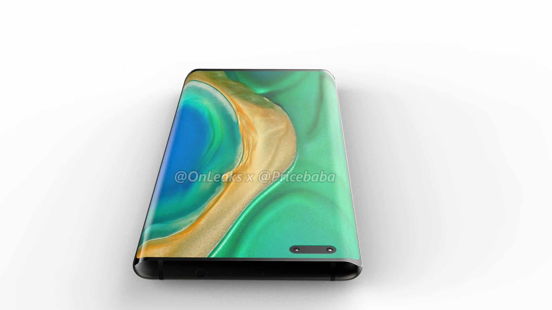 Huawei Mate 40 Pro render leak 6