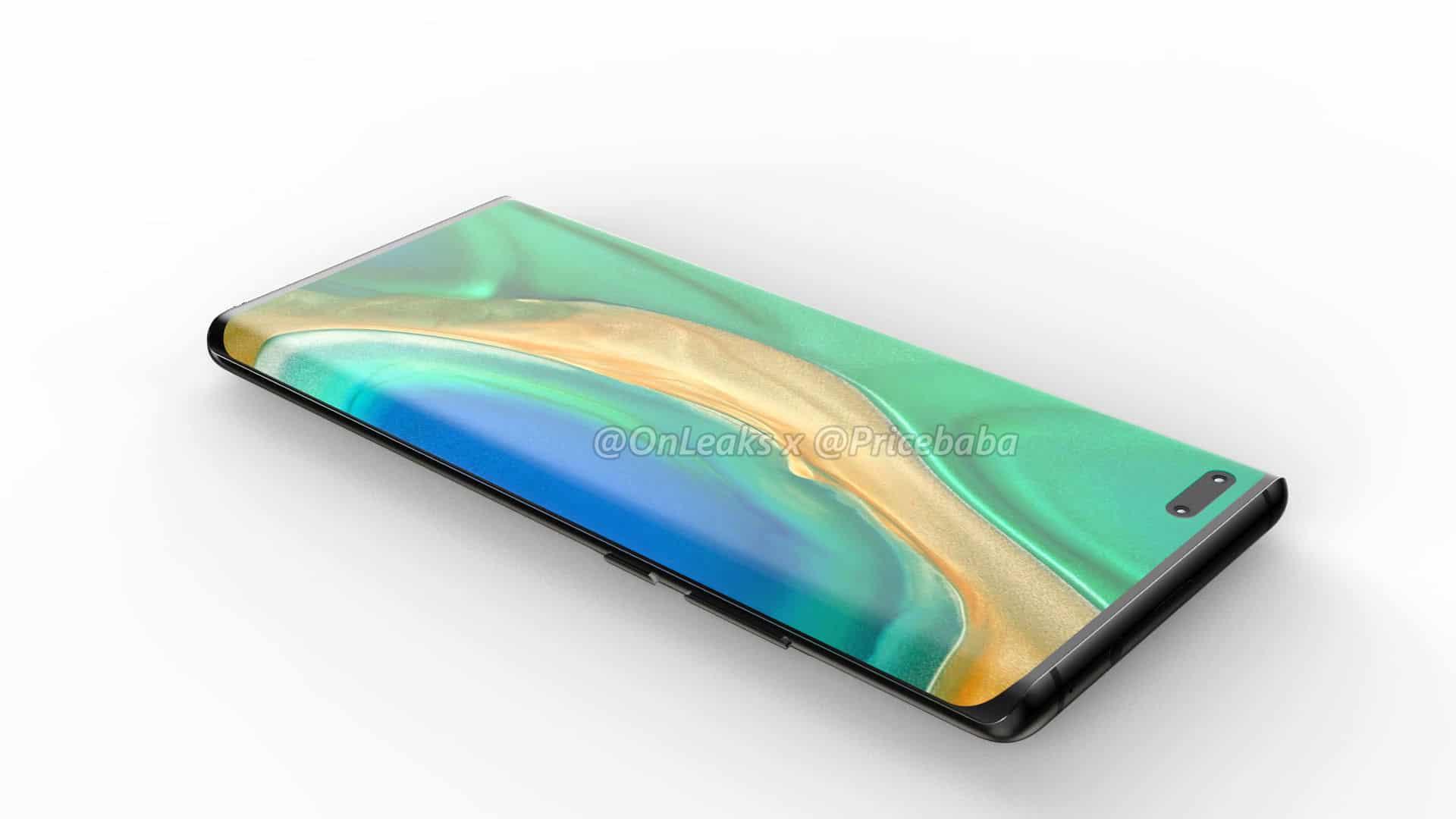 Huawei Mate 40 Pro render leak 7