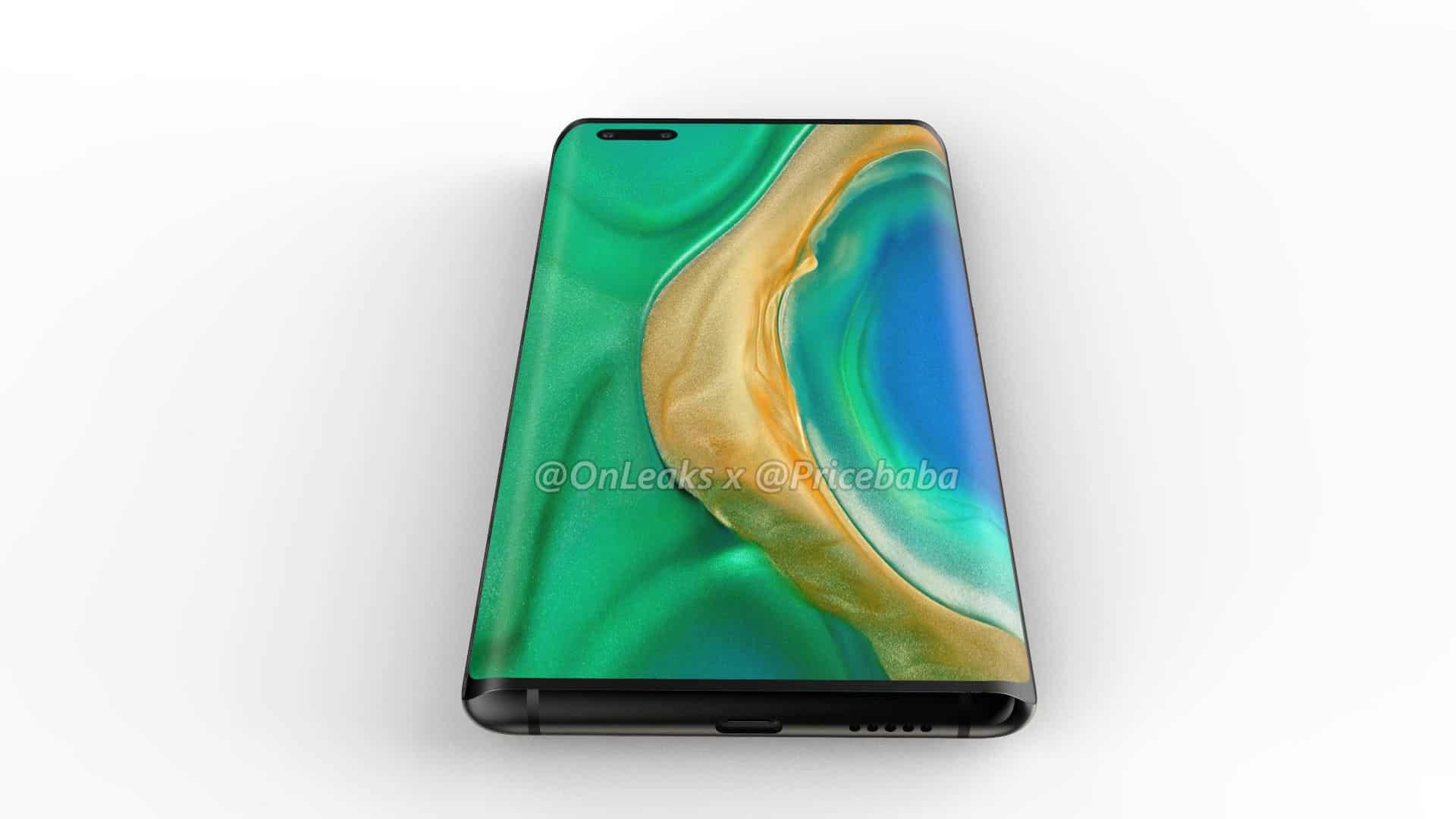 Huawei Mate 40 Pro render leak 9
