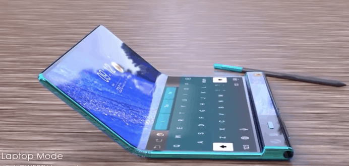 Huawei Mate X2 concept image 1