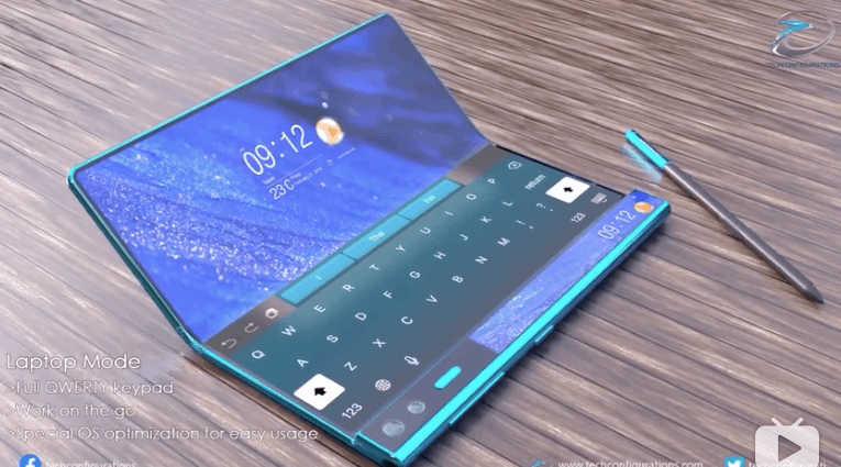 Huawei Mate X2 concept image 2