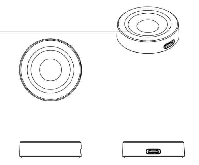Huawei Watch wireless charger