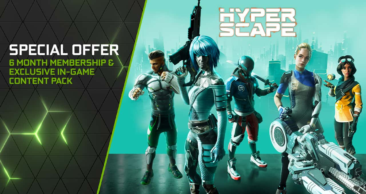 Hyper Scape GeForce NOW Launch 1