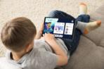 Lenovo Tab M10 HD_Gen 2_Google Kids Space_child on carpet