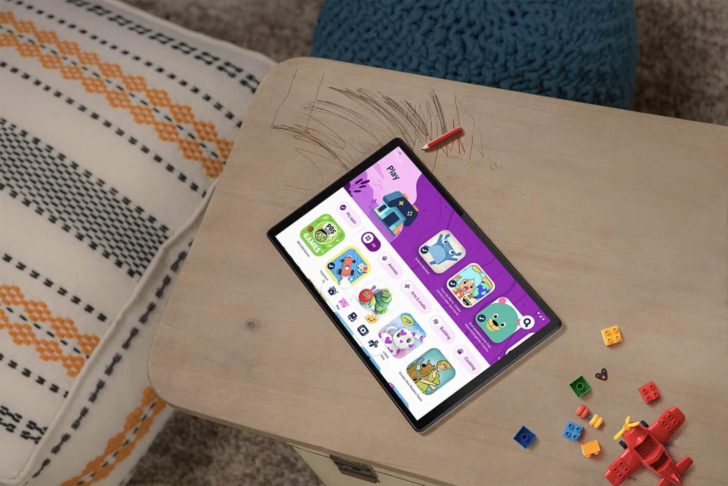 Lenovo Tab M10 HD Gen 2 Google Kids Space table