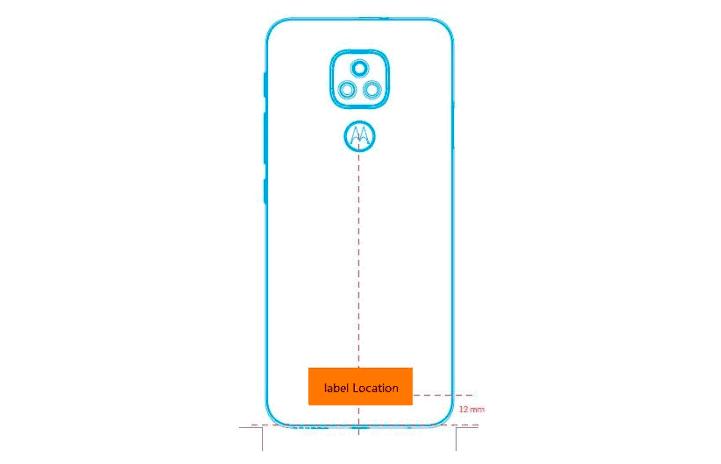 Moto E7 FCC Design
