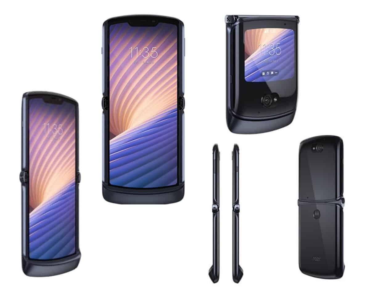 Motorola Razr 5G Leaked Renders