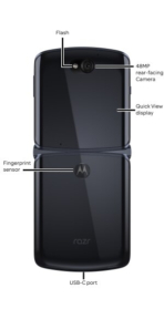 Motorola Razr 5G design detailed 2
