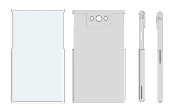 OPPO extendable display smartphone patent 3