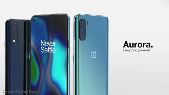 OnePlus Aurora concept