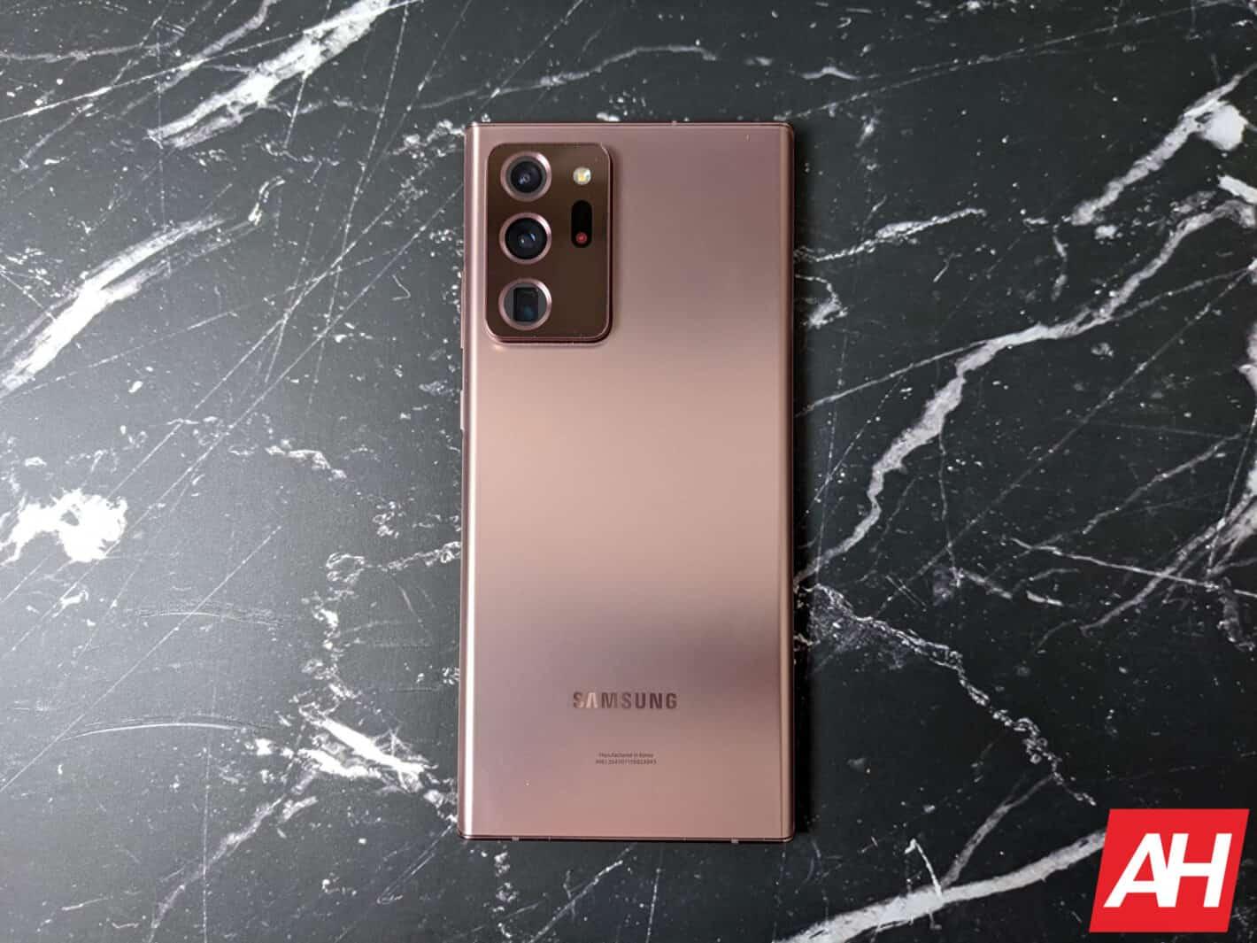 Samsung Galaxy Note 20 Ultra Review AM AH 18