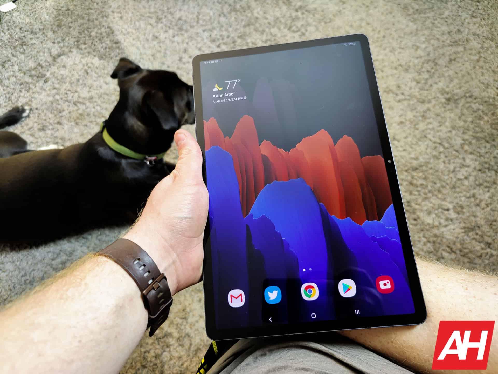 Samsung Galaxy Tab S7 Hands On AM AH 22