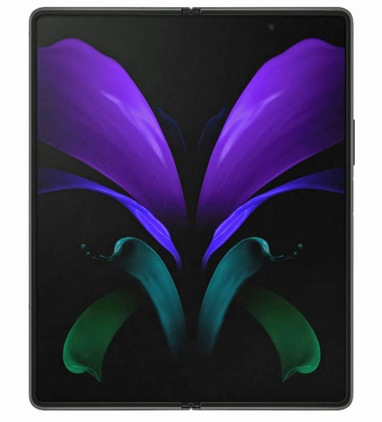 Samsung Galaxy Z Fold 2 render leak 2 5