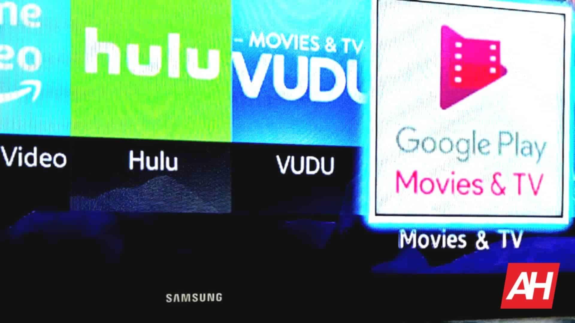 Samsung Google Play Movies Smart Hub DG AH 2020
