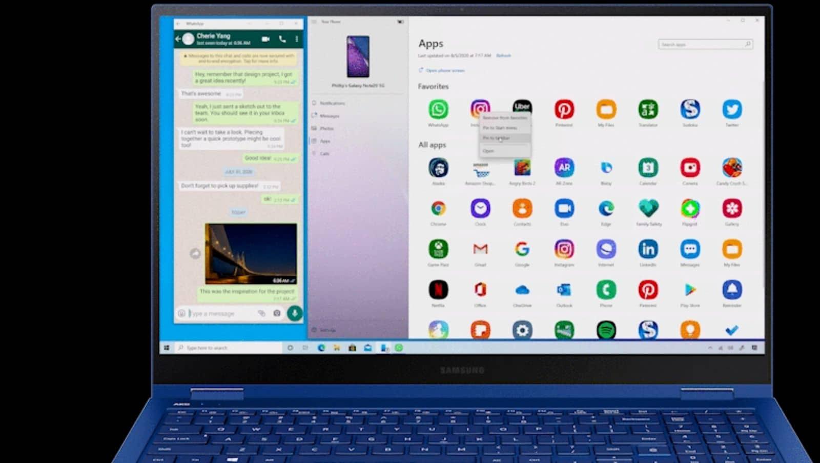 Windows Samsung Microsoft 09 from Microsoft supplied gif