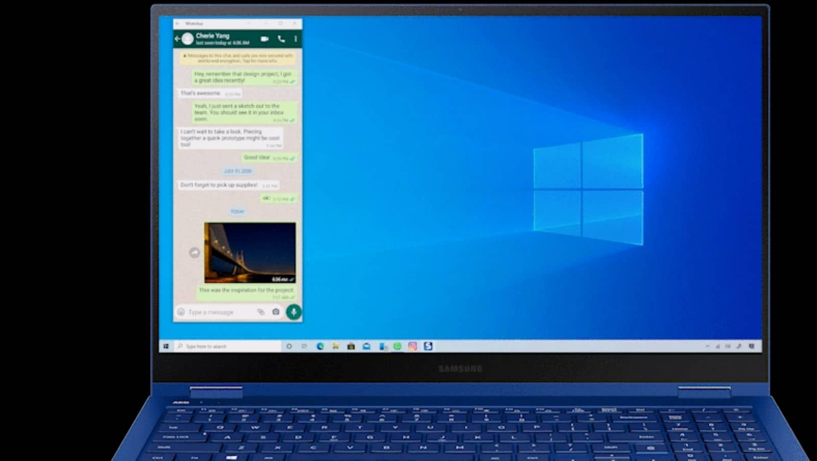 Windows Samsung Microsoft 11 from Microsoft supplied gif