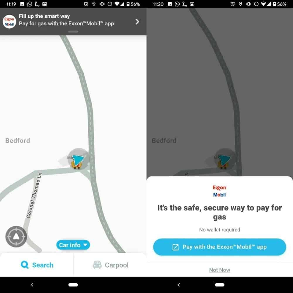 Waze Gas Feature from 9to5Google