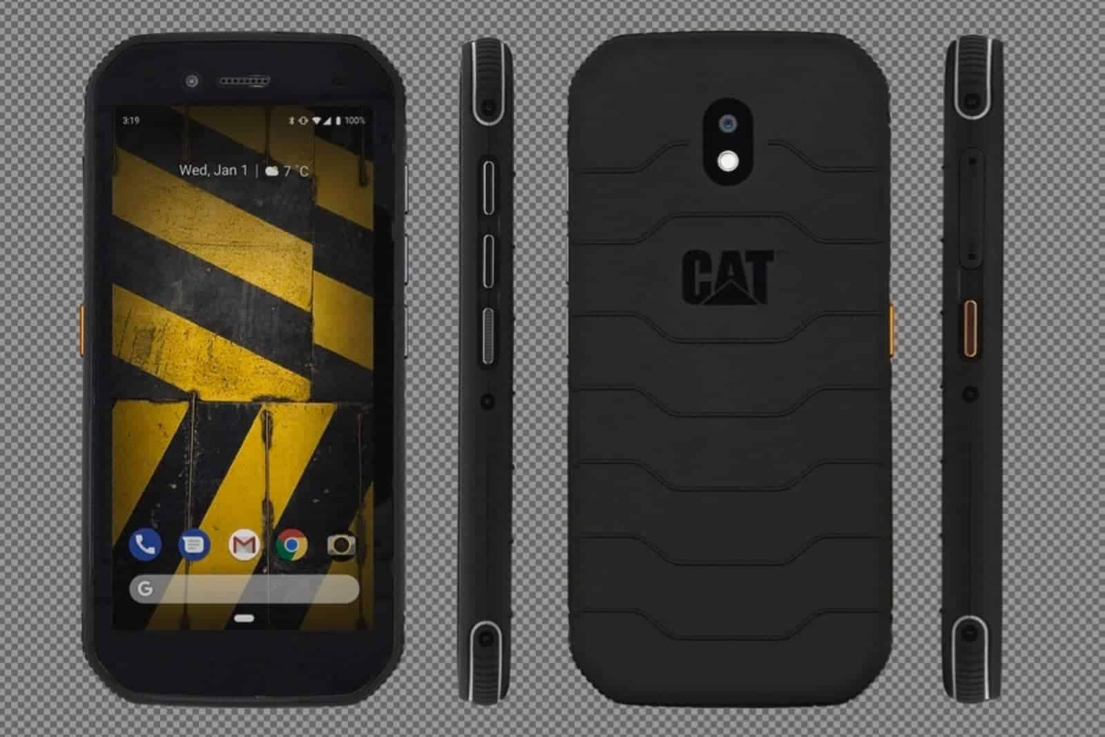 01 CAT S42 Smartphone Render vb1666401 Paddington Orthographic