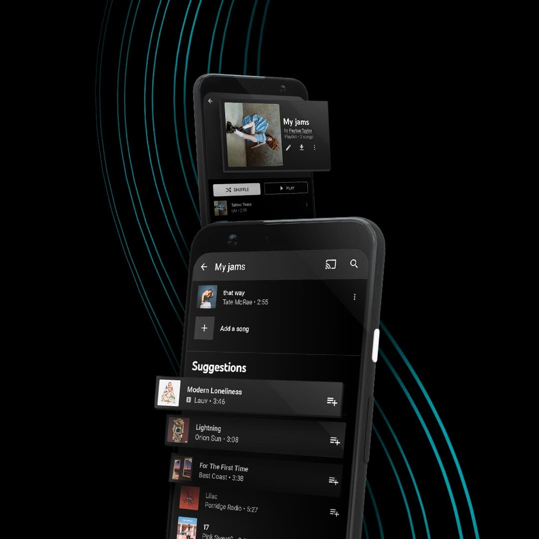 01 YTM PlaylistImprovements AssistivePlaylists PR 1080x1080 NOTEXT 1